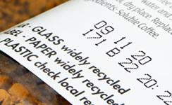 紙ラベルに製造年月日・製造所記号を印字(マーキング)