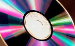 DVD樹脂にロット番号を印字(マーキング)