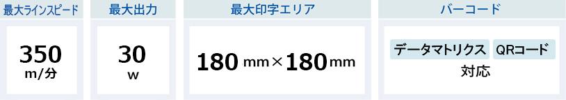 ドミノD310 製品スペック